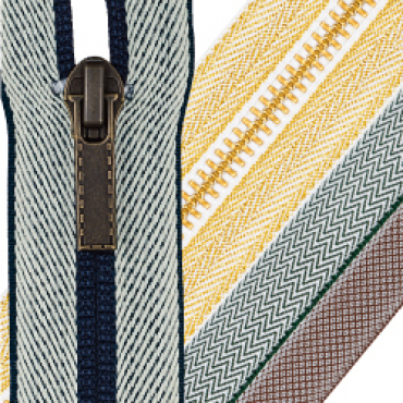 Designed woven tape